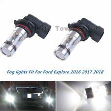 100W Fog Lights For Toyota Camry 2002 2003 2004 2005 2006 6000K White LED Bulb