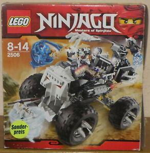 Lego Ninjago 2506 Skull Truck 100% komplett mit allen Figuren OVP und Anleitung