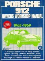 1965 1966 1967 1968 1969 Porsche 912 Workshop Manual