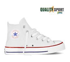 Converse Chuck Taylor Bianco Junior Scarpe Bambino Sportive Sneakers 3J253C 2019