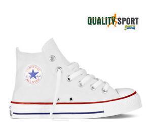 Scarpe da bambino di Converse bianchi   Acquisti Online su eBay