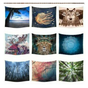 3D Towel Indian Mandala Tapestry Boho Bedspread Hanging Wall Decor Beach Hippie