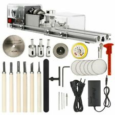 Mini Lathe Machine Tool Diy Woodworking Wood Milling Machine Grinding Polishing