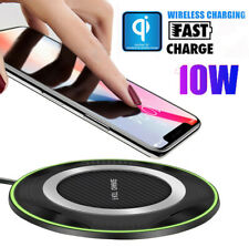 Fast Qi Wireless Charger Charging Pad Dock For iPhone 11Pro XS Max Samsung S9 S8