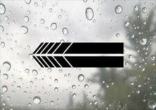 Wing Mirror Stripes Inspired Design JDM Race Driving Car Van Decal Vinyl Sticker