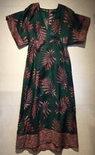 Womens SwimSuit Coverup Vix Paula Hermanny Leaves Dione Caftan Size L