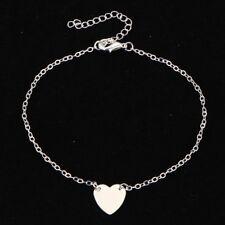 Luxury Heart  Foot Chain Women's Fashion Anklet Bracelet