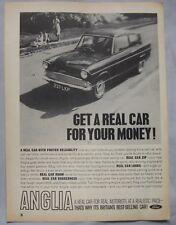 Ford Anglia Original advert