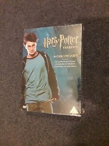 Harry Potter Years 1 - 3 Special Editions NEW Sealed 6 DVD Box Set UK Version