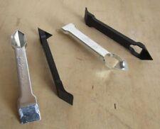 4 X Silicone Sealant Mastic Scraper Remover Tool 2 Plastic and 2 Metal - DIY