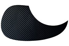 Acoustic Guitar Black Carbon Pickguard Self Adhesive Scratchplate