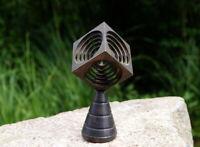 großartige Metall Skulptur Kinetische Kunst 60er Kunstobjekt Sammlerstück