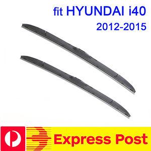 Front Windscreen Wiper blades for HYUNDAI i40 i 40 2012-2015