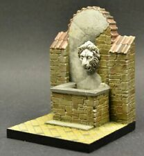DioDump DD166 Figure base - Fountain 1:35 scale vignette diorama