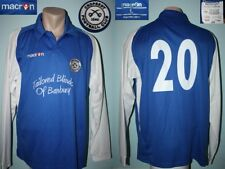 Jersey Trikot Camiseta Shirt Longsleeve CROPREDY FC Macron #20 Away Classic RARE
