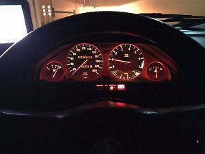 BMW e30 cluster dimmable LED lights