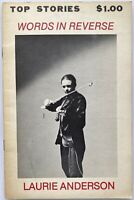 Laurie Anderson,Top Stories Zine,1st Edition/Printing,1979