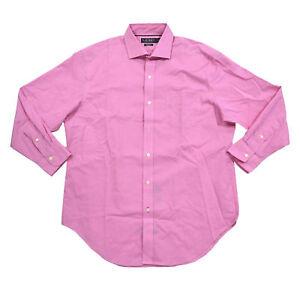 Polo Ralph Lauren Mens Dress Shirt Long Sleeve Non Iron Buttondown Collared New