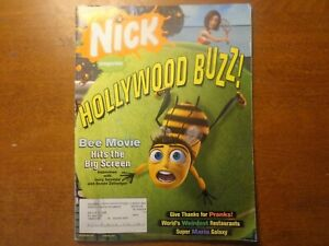Nickelodeon Magazine November 2007