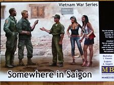 Masterbox 1:35 Quelque part dans Saigon Vietnam Series Figures Model Kit