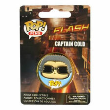 OFFICIAL DC COMICS POP! HEROES THE FLASH (TV SERIES) CAPTAIN COLD PIN/ BADGE