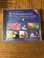 Britannica 2005 PC Cd