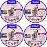 4 Pack Flea And Tick Collar For Cats - 8 Months Protection - One Size Fits All