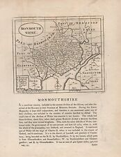 1787 COUNTY MAP JOHN SELLER - GROSE - MONMOUTHSHIRE