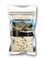 Boswellia Serrata Extract 400mg (65% boswellic acid ). Vegetarian Capsules