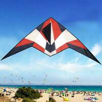 Armored Kite Long Tail Polyester Outdoor Kites Flying For Children Kids A1W2
