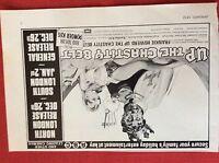 m78a ephemera 1972 film advert up the chastity belt frankie howard