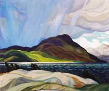 "Frank Carmichael, Group of Seven ""Lake Wabagishik"" Large Print"