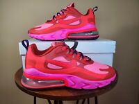 Nike Mens Air Max 720 React Running Sneakers Gym Pink Red AO4971 600