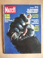 PARIS MATCH DECEMBRE 1976 N° 1439 KING KONG. FREDERIC DARD SAN ANTONIO. P NEWMAN