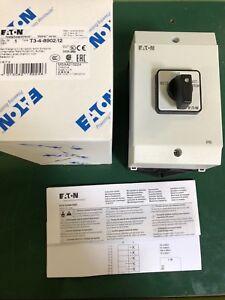 Eaton/Moeller Umschalter Netz/Notstrom im Gehäuse T3-4-8902/I2