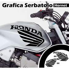 GRAFICA SERBATOIO ADESIVI ADESIVO MOTO CARENE HONDA HORNET STICKERS NERO