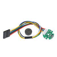 370 Motor Hall Encoder DC 2.5V~24V 12 PPR Dual Quadrature Outputs Metal Encoder