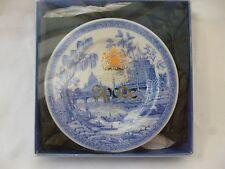 """Spode Habitación Azul Colección georgiano serie """"Roma"""" en miniatura de la placa de 3 1/4"""" de diámetro"""
