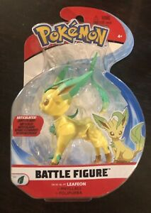 Pokemon Battle Figure LEAFON  2021 Brand New