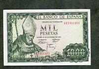 BILLETE  1000 PESETAS 1965 SERIE 1E7311377   SC