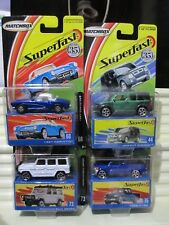 Matchbox 2004 USA Set #1 OF 4 Wave G Superfast Models New Mint in New Mint Boxes