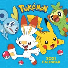 Pokemon Calendar 2021 - Square Wall Format Official Licensed Product