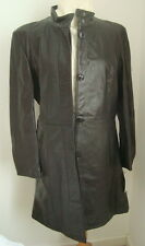 **SALE OFFER*  LADIES' 3/4 BLACK LEATHER COAT SIZE 14 - #3101