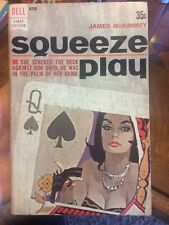 Squeeze Play By James Mckimmey Dell First Edition Collectible Paperback