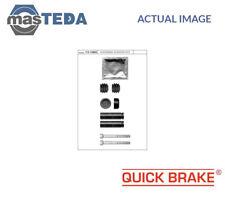QUICK BRAKE FRONT REAR BRAKE CALIPER REPAIR KIT 113-1386X P NEW OE REPLACEMENT