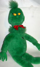"Vintage 1997 Large 27"" Dr. Seuss Grinch Macy's Plush Stuffed -heart does'nt work"