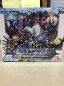 Digimon  V 1.0 ENGLISH Core Booster Box  Special Release 2020  SEALED TWO dash