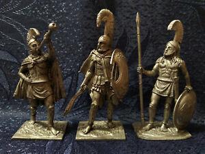1:32 (54 mm) Tin Soldier Set - Ancient Greek Soldiers Set 3 - 3 figures #GR5403