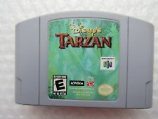 Disney's Tarzan Nintendo 64 N64 Authentic OEM Video Game Rare Retro Kids GREAT