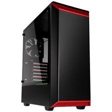 PHANTEKS Eclipse P300 metà Custodia per Torre dei giochi - Rosso USB 3.0